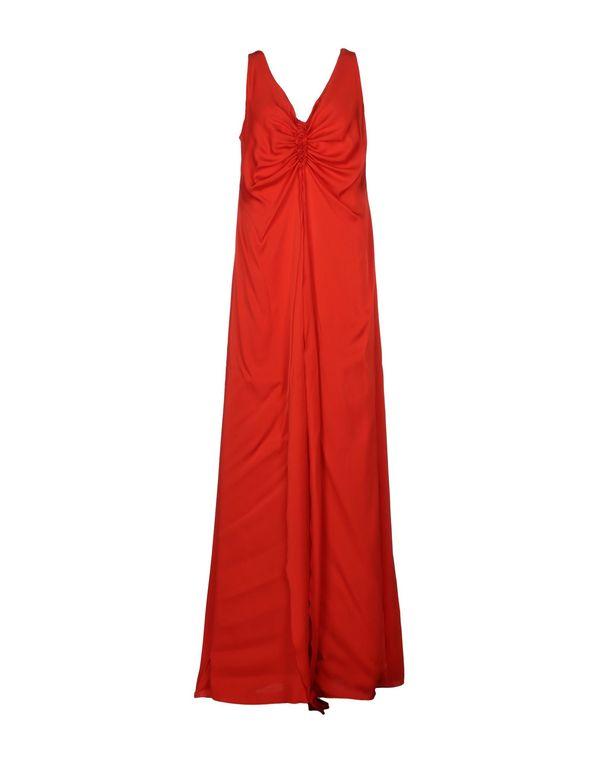红色 ARMANI COLLEZIONI 长款连衣裙