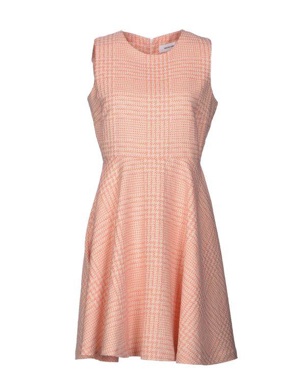 橙色 MAURO GRIFONI 短款连衣裙