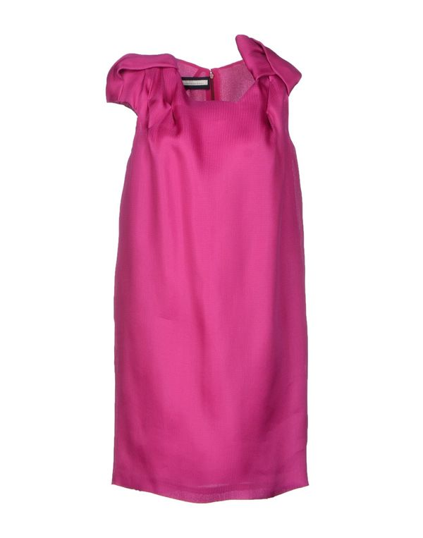 紫红 AQUILANO-RIMONDI 短款连衣裙