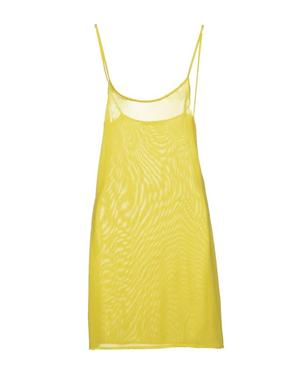 黄色 BALENCIAGA 及膝连衣裙
