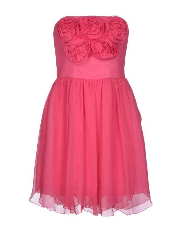 玫红色 BLUGIRL BLUMARINE 短款连衣裙