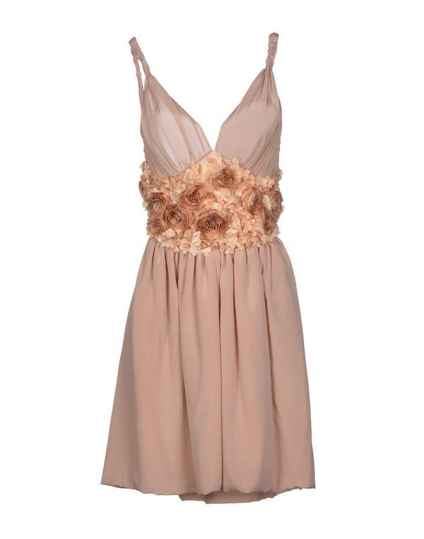 粉红色 BLUGIRL BLUMARINE 短款连衣裙