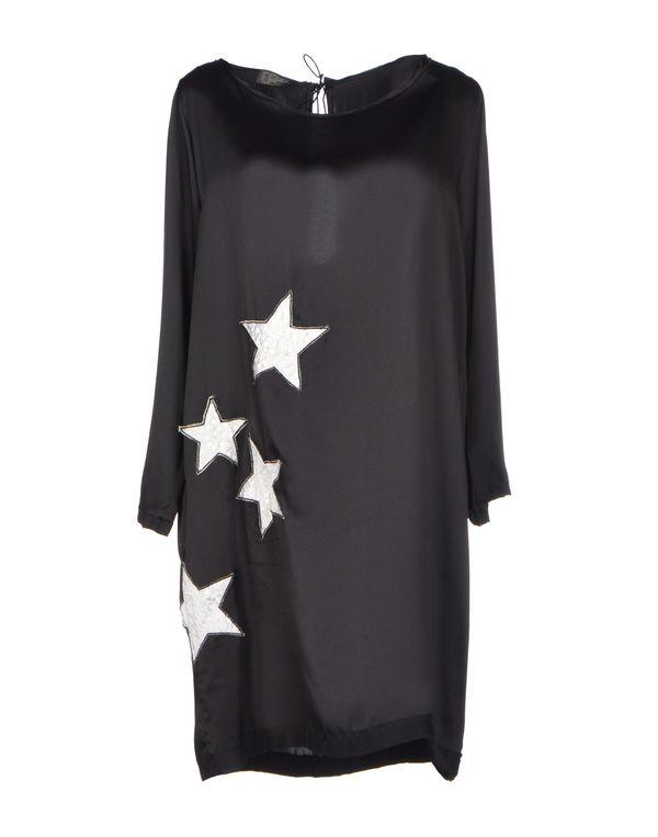 黑色 SO ALLURE 短款连衣裙
