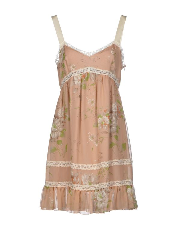 裸色 BLUGIRL BLUMARINE 短款连衣裙