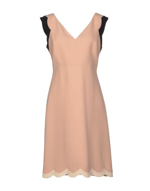 裸色 AQUILANO-RIMONDI 短款连衣裙