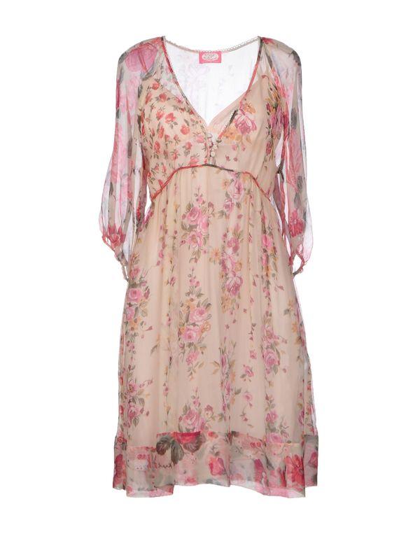 浅粉色 BLUGIRL BLUMARINE 短款连衣裙