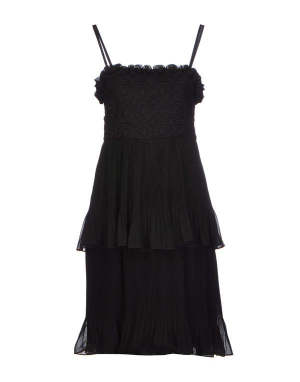 黑色 BLUGIRL BLUMARINE 短款连衣裙