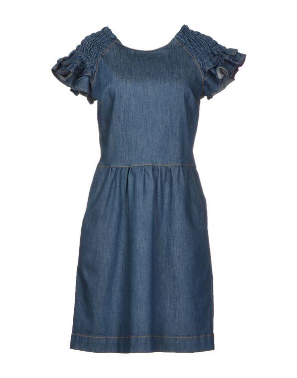 蓝色 REDVALENTINO 短款连衣裙