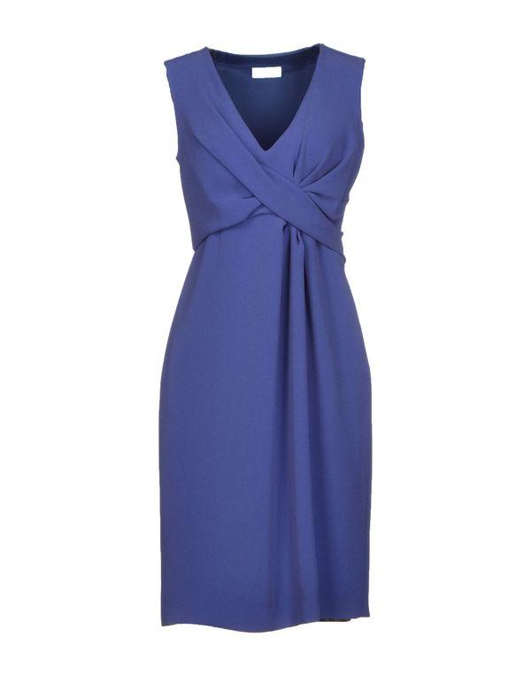 蓝色 MOSCHINO 短款连衣裙