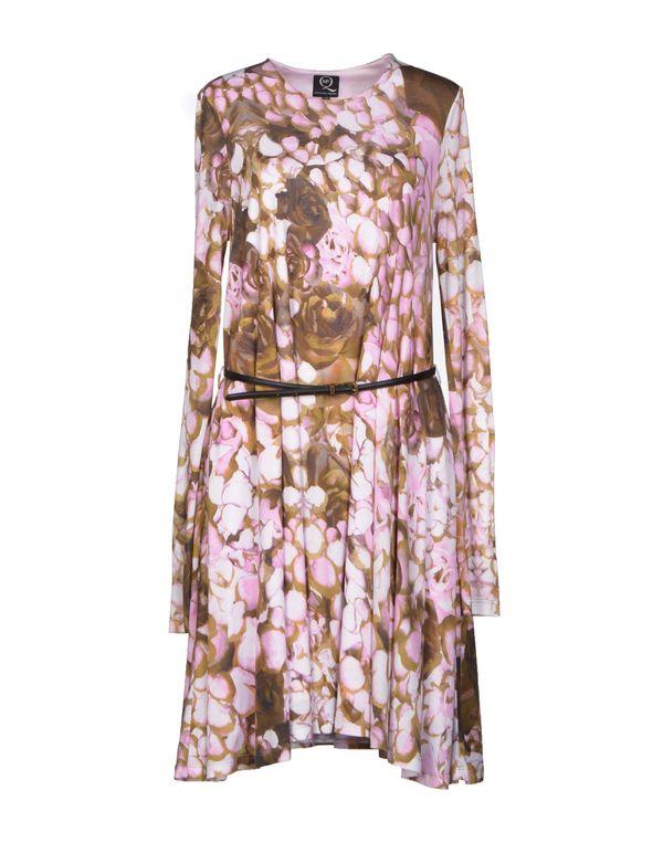粉红色 MCQ ALEXANDER MCQUEEN 及膝连衣裙
