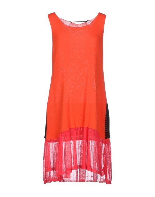 橙色 GAETANO NAVARRA 短款连衣裙