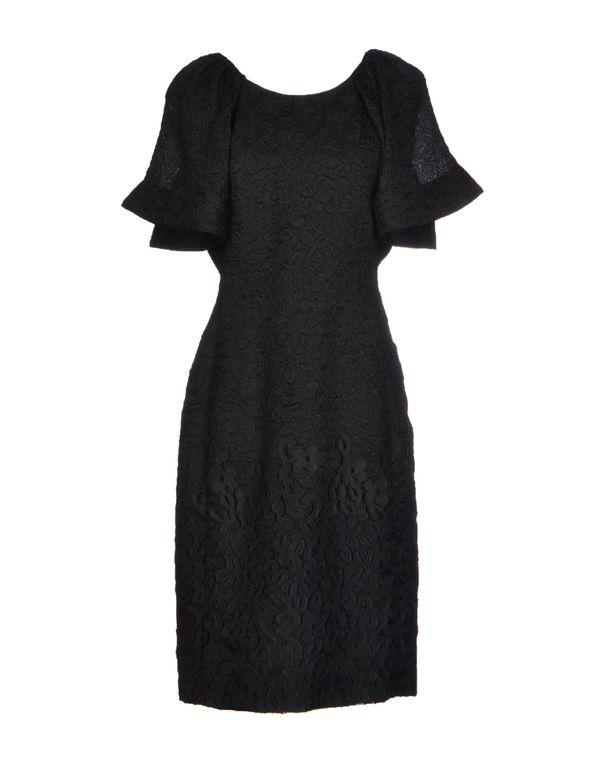 黑色 MOSCHINO 短款连衣裙
