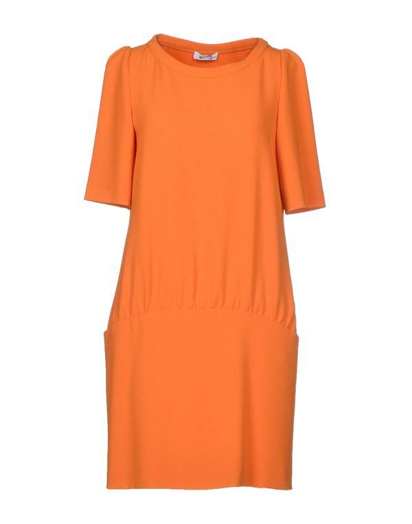 橙色 MOSCHINO CHEAPANDCHIC 短款连衣裙