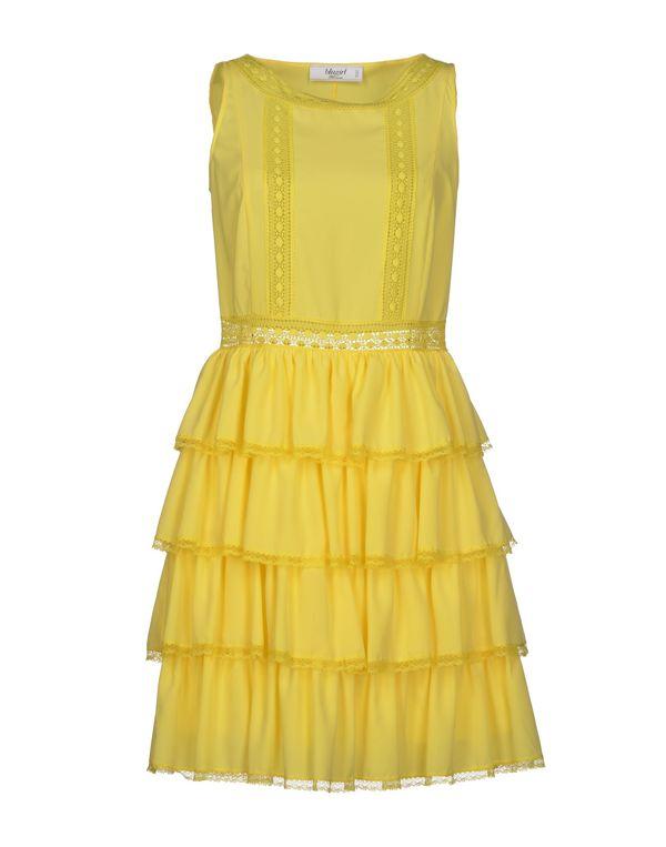 黄色 BLUGIRL BLUMARINE 短款连衣裙