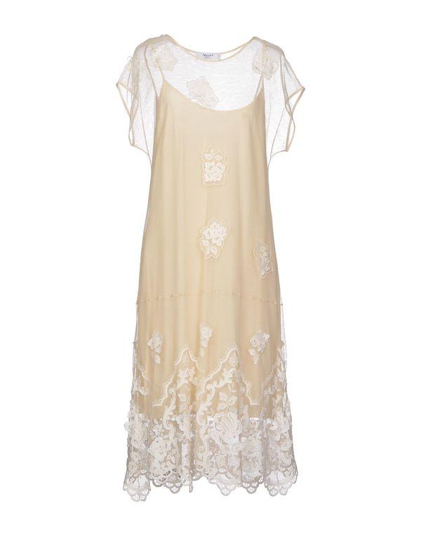 米色 BLUGIRL BLUMARINE 及膝连衣裙
