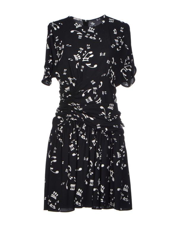 黑色 MIU MIU 短款连衣裙