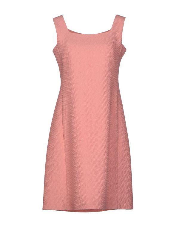 粉红色 MOSCHINO 短款连衣裙