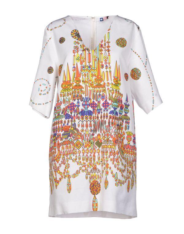 白色 MSGM 短款连衣裙