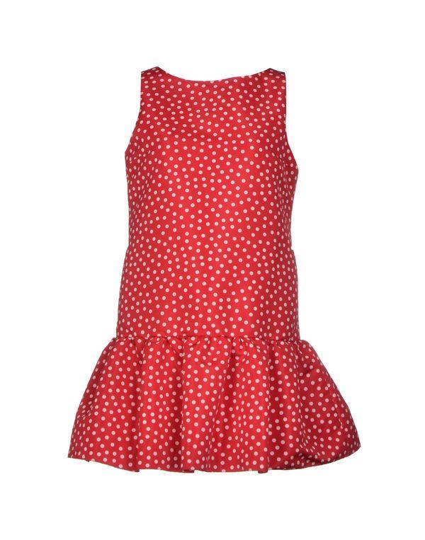 红色 REDVALENTINO 短款连衣裙