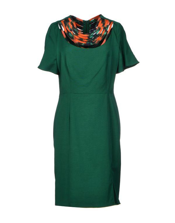 绿色 KENZO 短款连衣裙