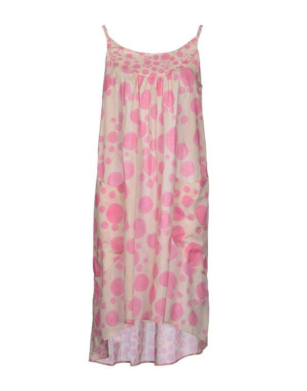 粉红色 TSUMORI CHISATO 及膝连衣裙