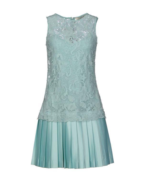 浅绿色 SCERVINO STREET 短款连衣裙