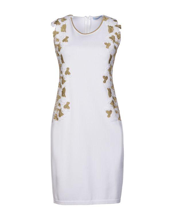 白色 BLUMARINE 短款连衣裙