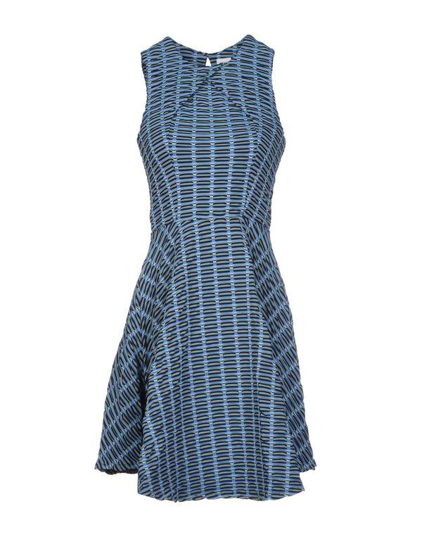 粉蓝色 OPENING CEREMONY 短款连衣裙
