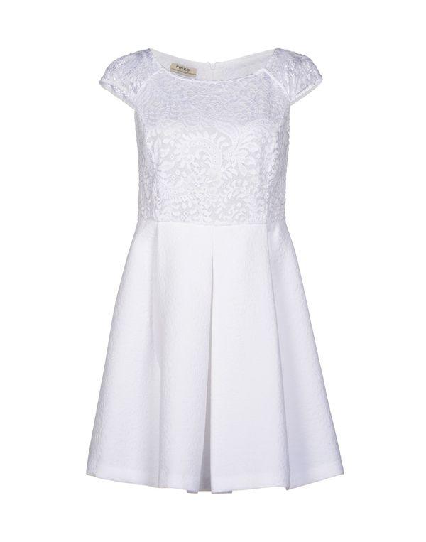 白色 PINKO 短款连衣裙