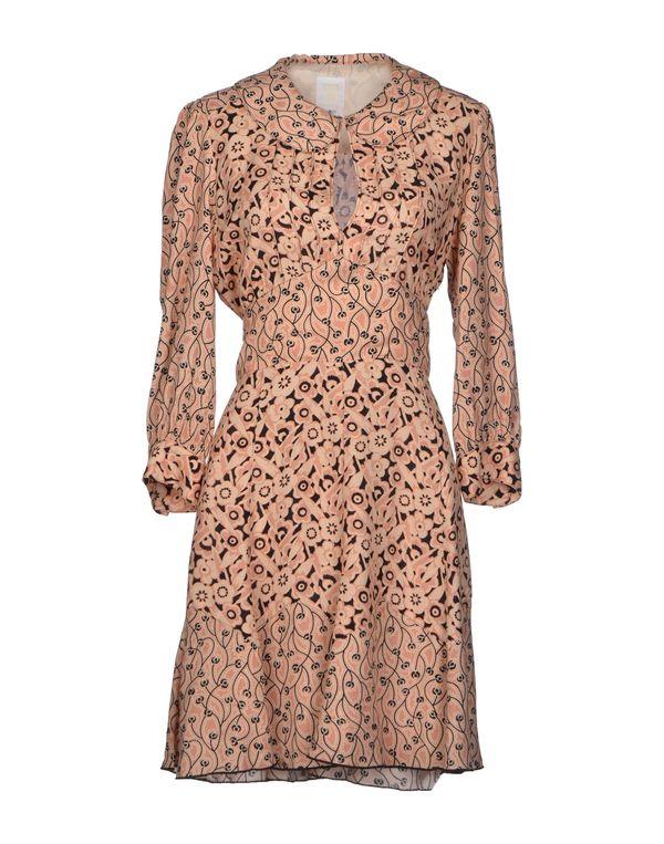 粉红色 ANNA SUI 短款连衣裙