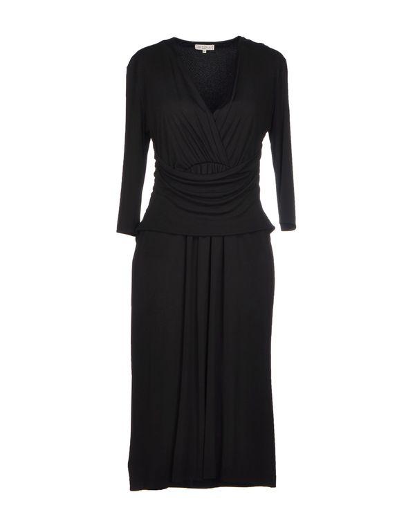 黑色 ETRO 及膝连衣裙