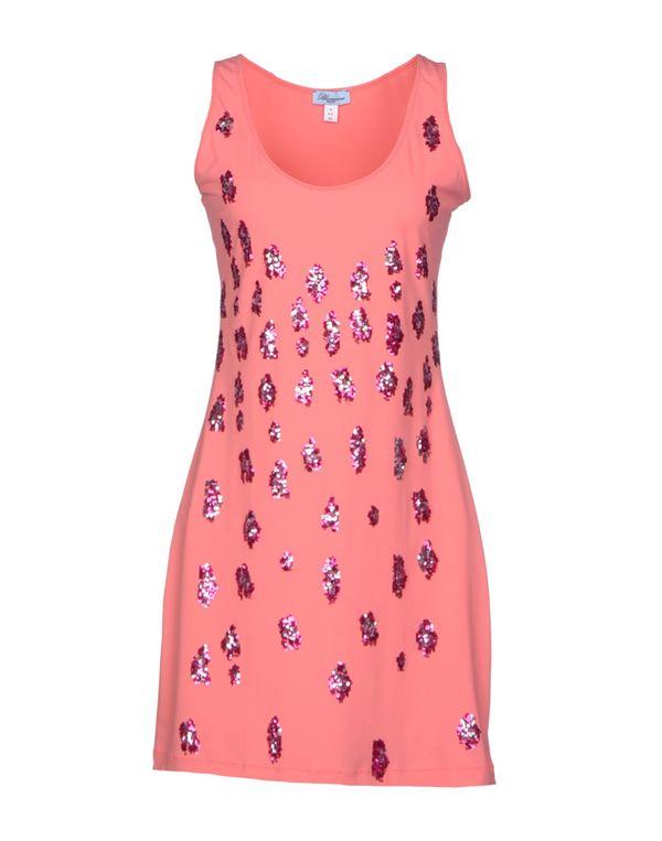 浅紫色 BLUMARINE 短款连衣裙