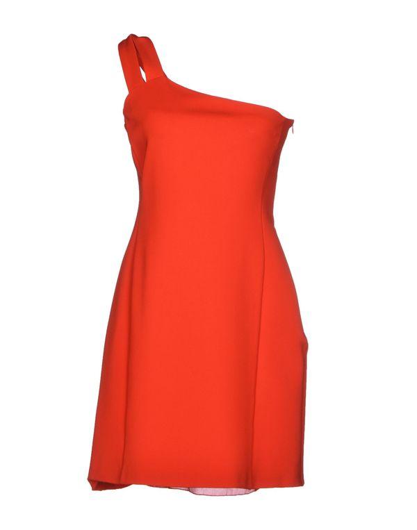 红色 VERSUS 短款连衣裙