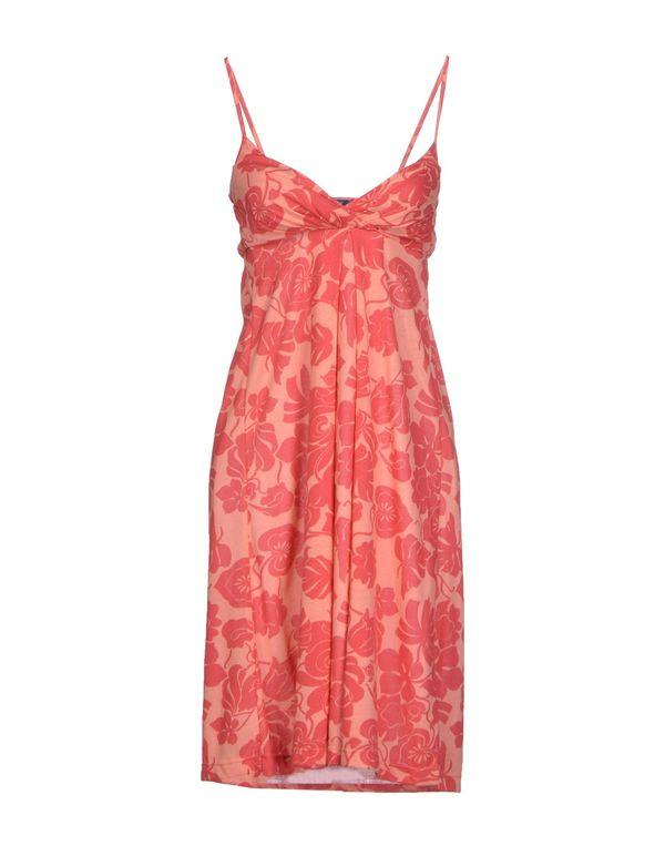 红色 GANT 中长款连衣裙