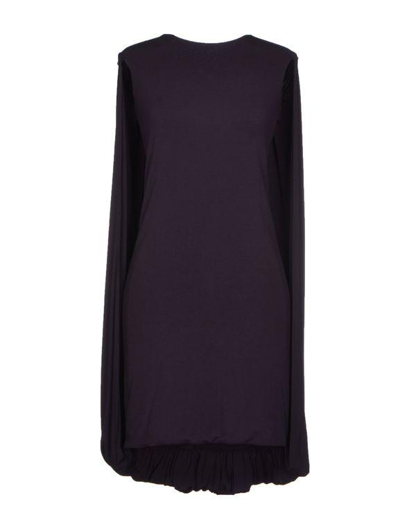 深紫色 MCQ ALEXANDER MCQUEEN 短款连衣裙