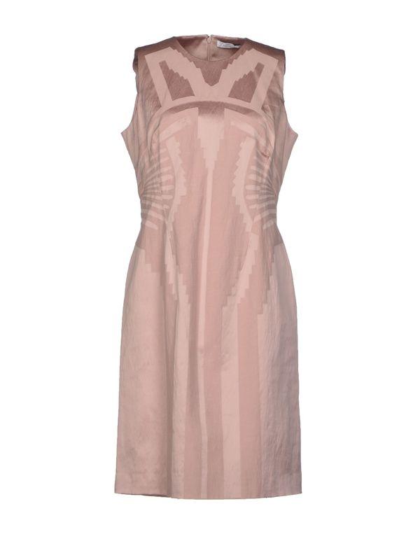 粉红色 VERSACE COLLECTION 短款连衣裙