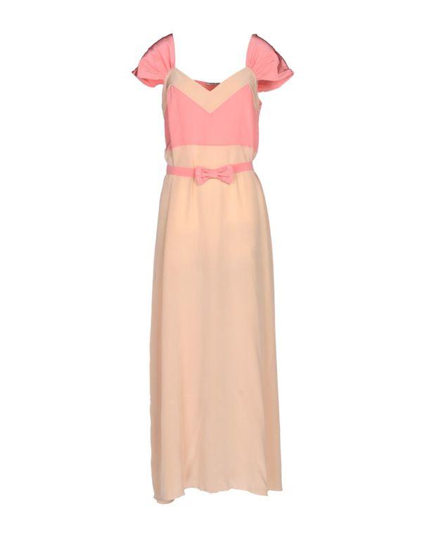 粉红色 MIU MIU 长款连衣裙
