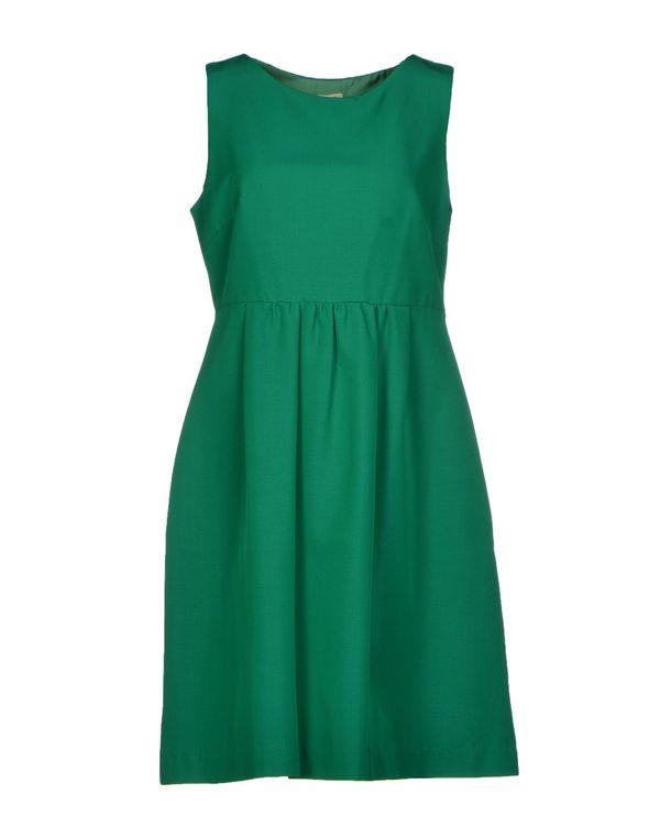 绿色 P.A.R.O.S.H. 短款连衣裙