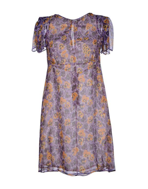 紫色 REDVALENTINO 短款连衣裙