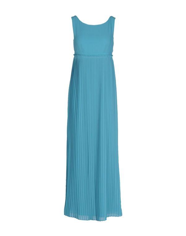 蓝绿色 SCEE BY TWIN-SET 长款连衣裙