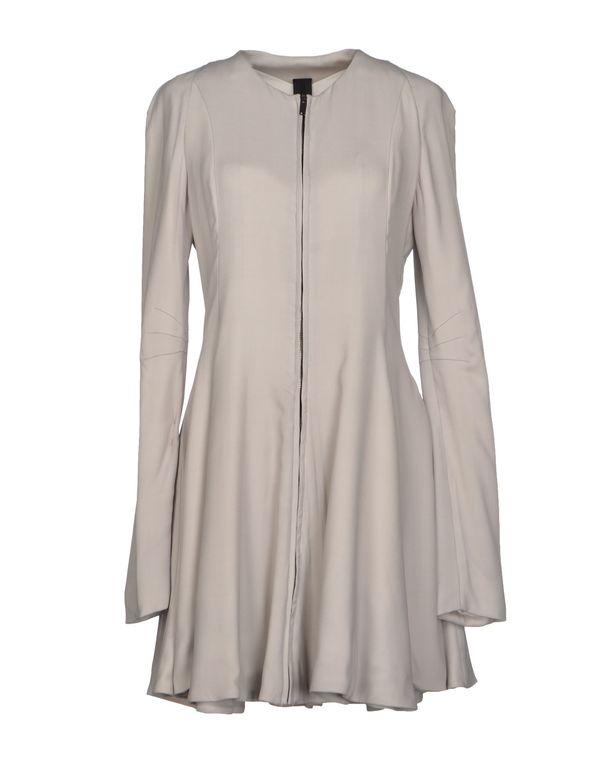 淡灰色 GARETH PUGH 短款连衣裙