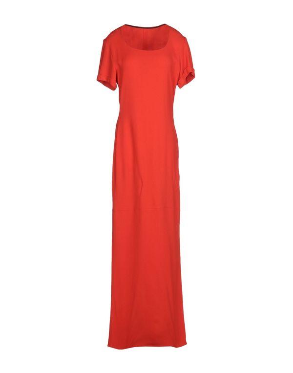 红色 COSTUME NATIONAL 长款连衣裙