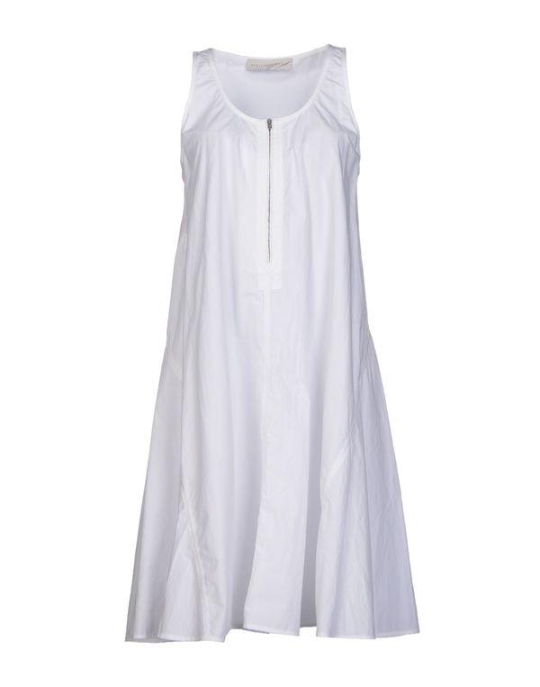白色 STELLA MCCARTNEY 短款连衣裙