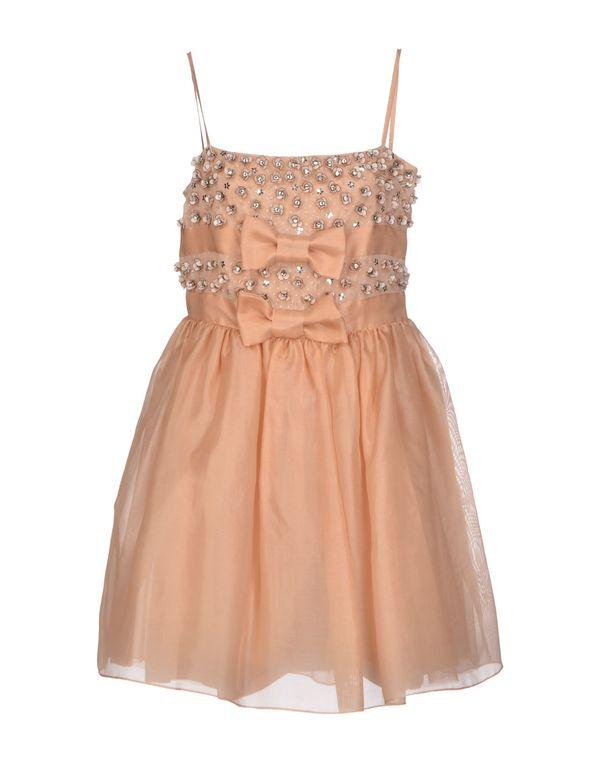 裸色 REDVALENTINO 短款连衣裙