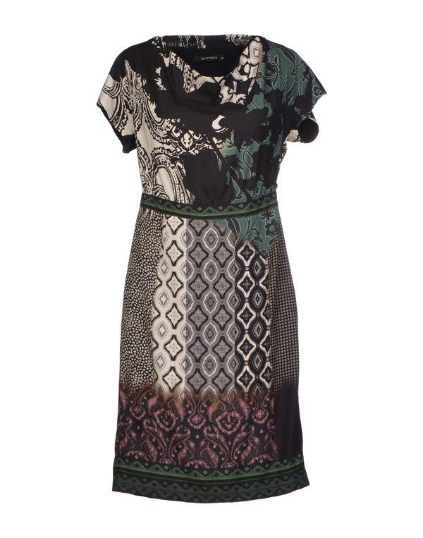 黑色 ETRO 短款连衣裙