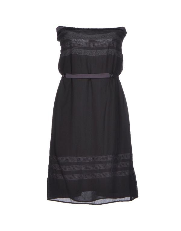 青灰色 LIU •JO 短款连衣裙