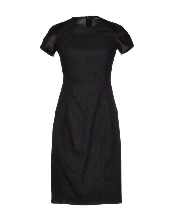 黑色 RALPH LAUREN BLACK LABEL 短款连衣裙