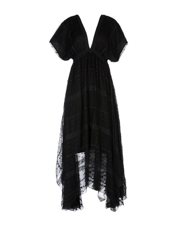 黑色 MES DEMOISELLES 长款连衣裙