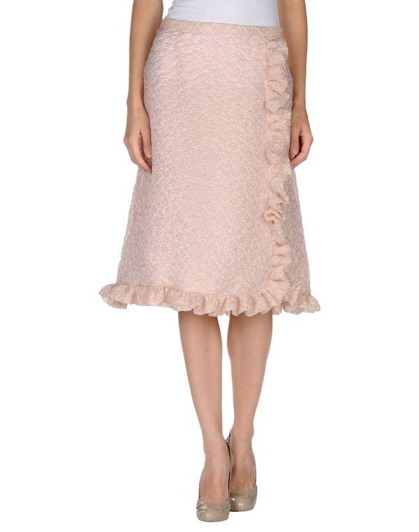 粉红色 ROCHAS 半长裙