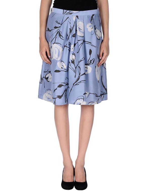 粉蓝色 MOSCHINO CHEAPANDCHIC 及膝半裙
